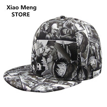 Anime One Piece Baseball Cap Sanji Hat For Men Women Monkey D Luffy Hip Hop Snapback Caps Bones Trafalgar D Water Law Hats M48(China)