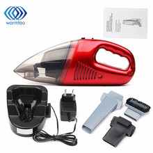 1Pcs 60W Cordless 3000Pa Super Suction Mini Portable Vacuum Cleaner For Car Dry Wet Handheld Dust Collector Cleaning(China)