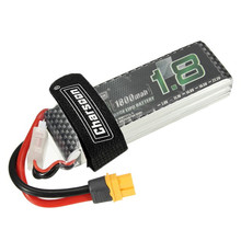 Best Deal Rechargeable Charsoon 11.1V 1800mAh 50C 3S Lipo Battery XT60 Plug With Strap