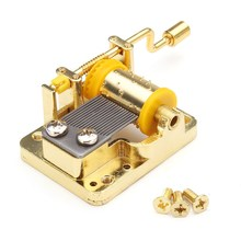 Music Motor Big Music Box Music Optional For DIY Project Doll House Dollhouse Accessories(China)