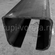 Track for KIT5 (6 meters). Track for Slideng gate rolls. Size 60x70x3.5 mm(China)