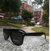 LVVKEE hot rayeds brands Quality fashion Men Women Polarizer frame sunglasses uv400 Prevent sunglasses 2140 driveing sunglasses(China)