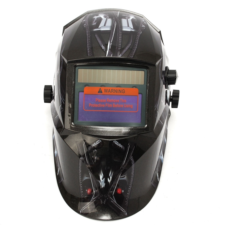 1PC Pro Welding Grinding Helmet Solar Auto Darkening Mig Tig Arc Mask<br>