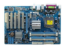 For Gigabyte GA-P43-ES3G REV 1.0 1.1 Original Used Motherboard P43-ES3G P43 LGA 775 DDR2 (Yellow blue happens to happen)(China)