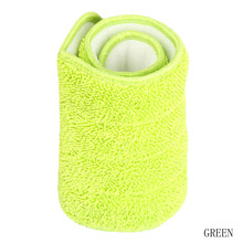 3 Colors Options Replacement Microfiber Spray Mop Head Washable Floor Cleaning Cloth Household Cleaning Mop Pads Drop Shipping(China)