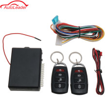 Car Auto Remote Central Kit Door Lock Locking Vehicle Keyless Entry System New With Remote Controllers 2 x Remote Control