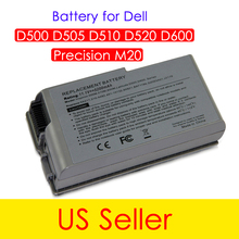 Brand New Battery For Dell Inspiron 500m 510m 600m Latitude D500 D505 D510 D520 M20 Mobile Workstation M20