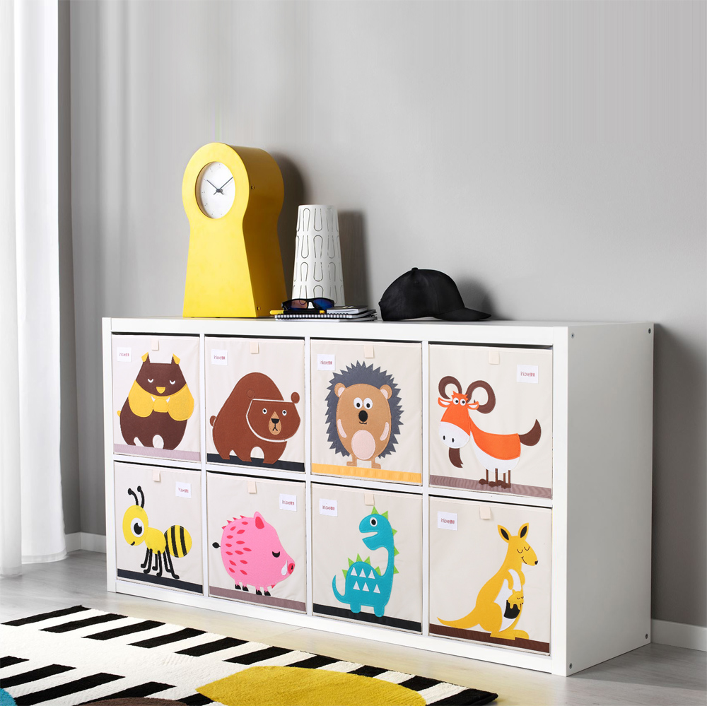 3D-Embroider-Cartoon-Animal-Fold-Storage-Box-kid-Toy-Clothes-organizer-box-children-Sundries-Coon-Cloth (1)