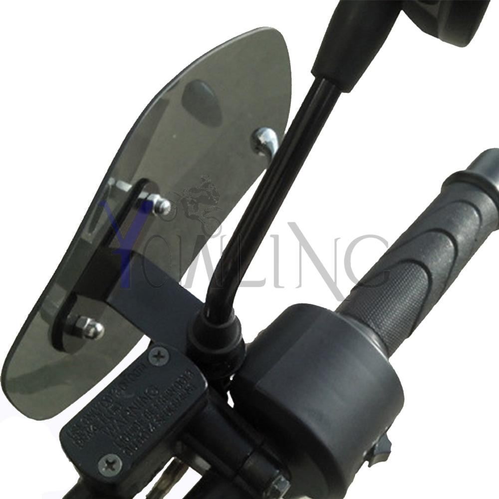 Motorcycle Accessories wind shield Brake clutch lever handle hand guard For Kawasaki ER-5 er6n GPZ500S/EX500R NINJA ZX6R ZX7R<br>