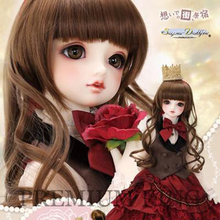 HeHeBJD SD BJD 1/3 Doll volks Lieselotte include eyes sd10 sd13 sd16 sdgr girl Art doll manufacturer low price hot bjd(China)