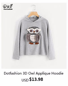 Dotfashion- 3D owl Appliquee