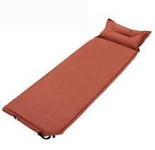 Spring and autumn winter outdoor sleeping pad suede automatic air mattress splicing camping mat(China)