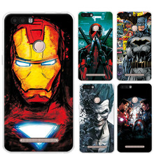 "Case Cover For LEAGOO KIICAA POWER 5.0""Marvel Avengers Captain America Charming Design Phone Cases For LEAGOO KIICAA POWER Funda(China)"
