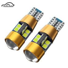 Buy 2Pcs T10 LED Car Light Bulbs 3030LED 12V 24V W5W Turn Side License Plate Light Canbus Car Parking Error Free clearance light for $2.81 in AliExpress store