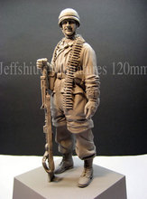 1/16 Resin Figure Model Kit WWII German paratroopers-1657 Unassambled Unpainted(China)