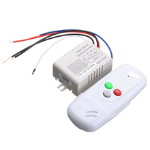 AC 110V 1 Channel Way Digital Wireless Light Lamp Home Wall Corridor Splitter Box Durable Remote Control Switch