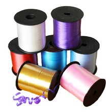 DIY Balloon Ribbon String Supplies Wedding Celebration Activities Party Decoration Different Color 5mm*230cm Choice
