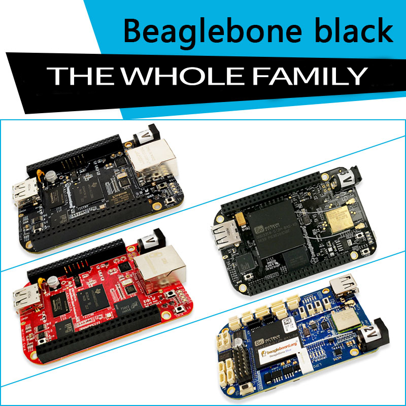 Beaglebone BB black Rev.C Industrial WIRELESS Blue series development board - Embedded development board for developer