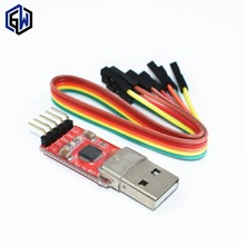 1pcs CP2102 module USB to TTL serial UART STC download cable PL2303 Super Brush line upgrade