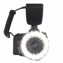 EACHSHOT RF-600D 18 LED Macro LED Ring Flash Versatile Lighting Macro Photography Flashes For Canon Nikon Sony Mi Hot Shoe DSLR