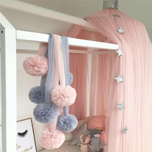 Eva2king Newly Wall Mount Toys Yarn Ornament Decoration Garland Ball for Wedding or Party Lovely Baby Room Tent's decorations(China)