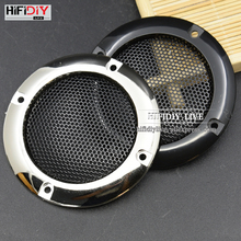 HIFIDIY LIVE 2.5'' 2 inch Speaker Net Cover High-grade Car home mesh enclosure speakers Plastic Frame Metal  iron wire grilles
