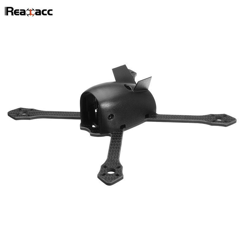 Original Realacc Flyingmouse 210mm Wheelbase 4mm Arm Carbon Fiber FPV Racing Drone Frame Kit with PDB Board For RC Multicopter<br>