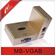 Cat5 VGA Balun VGA to Cat5 Cat5 to VGA converter Passive VGA Extender up to 100M(China)