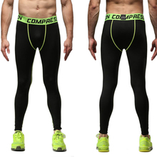 CALOFE Mens Elastic Running Pants Plus Size Cycling Basketball Pants Breathable Exercise Fitness Leggings Compression Tights Z25