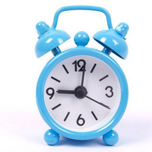 Best Quality Portable Fashion Classic Silent Double Bell Alarm Clock Quartz Movement Bedside