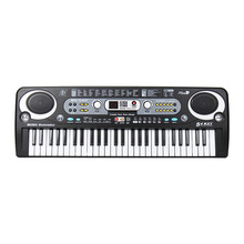 54 Keys Music Keyboard Key Board Electric Piano With Mini Microphone For Musical Instruments Kids Lover Gift(China)