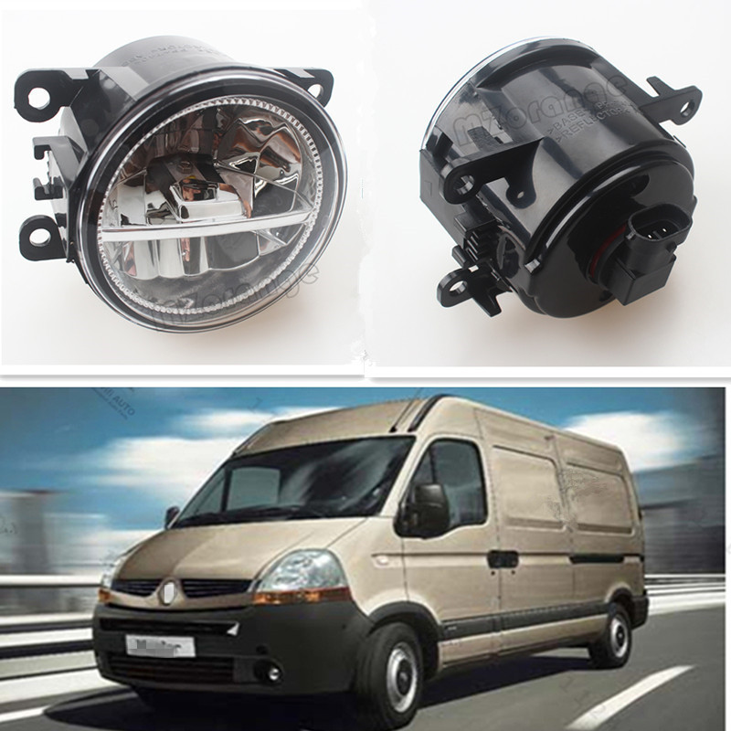 For RENAULT MASTER II Box (FD) 1998-2015 For Front Bumper High Brightness LED Fog Lights LAMPS LAMP Car Styling White 1 Set<br>