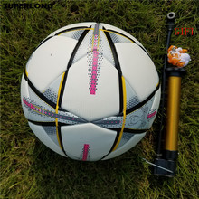 Professional Soccer Sport Football PU Material Champions League Official size 5 Football ball Free Gas Needles+Net Bag+inflator(China)