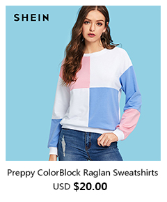 20  Preppy ColorBlock Raglan Sweatshirts