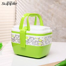 Buy 500ml Plastic Children Lunch Box Porcelain Lunch Boxes Two Layer Food Grade PP Sealed Tableware Christmas Gift for $7.70 in AliExpress store