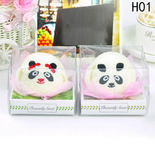 4 styles Animal cake towel new commodity gadgets birthday gifts for men and women gifts cute towels(China)