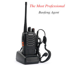 BaoFeng BF-888S Portable Radio Station Walkie Talkie 5W CB Ham Radio Set Two Way Radio uhf Transceiver Rechargeable and Cheap(China)