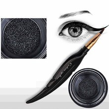 Buy 1PCS Women Hot Fashion Feather Ink air Cushion Eyeliner Liquid Eyeliner Pen Durable Waterproof Makeup Beauty Tool Kits 3709 for $1.40 in AliExpress store