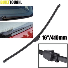 "MISIMA 16""/410mm Rear Window Wiper Blade For 2003-2010 VW Touran 2004- Caddy Transporter T5 Caravelle Skoda Octavia Estate Combi(China)"