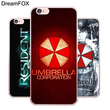 L230 Resident Evil Umbrella Soft TPU Silicone  Case Cover For Apple iPhone 7 6 6S Plus 5 5S SE 5C 4 4S