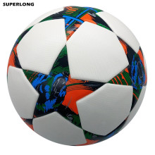 2014-2015 Season Berlin Champion League size 5 Football ball Seamless PU Soccer Ball Professional competition durable futbol(China)