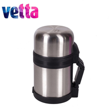 "METAL THERMOS ""TOURIST"" VETTA wide mouth 0,60L SILVER discount sale high quality vacation travel hiking lure 841-082"
