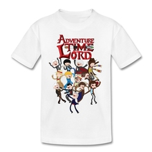 Adventure Time T Shirt 2017 Summer  Boys T Shirt Best Design Hip Hop Kids Tshirt Camisa Meninas
