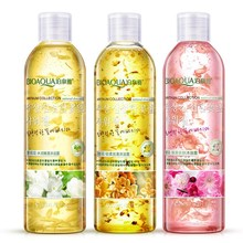 BIOAOUA Flower Petals Essencial Shower Gel Fragrant Whitening Bath Lotion Body Skin Care Moisturizing Deep Cleaning 250ml(China)