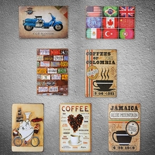 Tin Sign Wall Decor Metal Bar Plaque Retro Poster Pub Tavern Coffee Shop Business Lounge Office Party Wall Art(China)