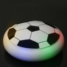 Creative Light-Up Toys Bright Light Suspension Football Electric Soccer Kids Boy Indoor Toy Good Sprot Ball Air Power Soccer(China)