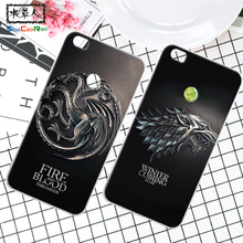 ShuiCaoRen Silicone Case For Xiaomi Mi Max Retra Game of Thrones Cover Phone Coque Ice and Fire Fundas For Xiaomi Mi Max 2(China)