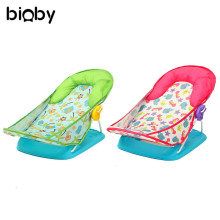 Foldable Newborn Infant Baby Safety Toddler Bath Tub Baby Toddler Bath Shower Support Seat Chair Soft Comfort Bath Supplies(China)
