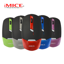 iMICE New Wireless Mouse USB Optical Mouse 3 Button E-2330 1600DPI Computer Pc Mouse for Office Computers and Laptops(China)