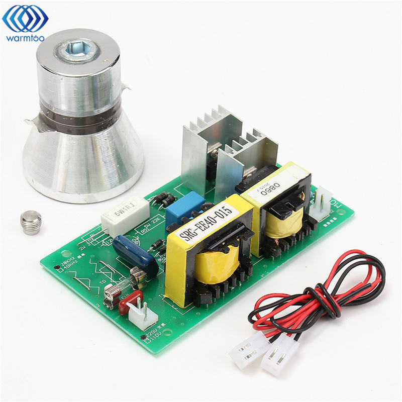 100W 28KHz Ultrasonic Cleaning Transducer Cleaner High performance +Power Driver Board 220VAC Ultrasonic Cleaner Parts<br>